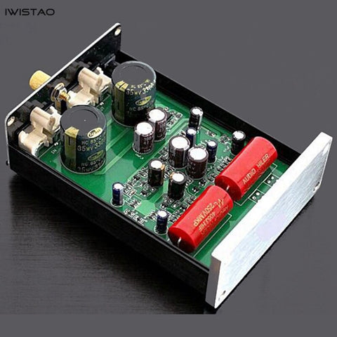 Moving Magnetic MM Phono Stage Discrete Component Class A Shure Circuit Magnification 120 Times AC18V