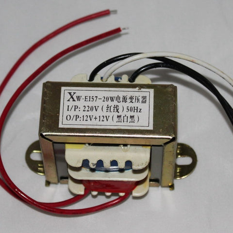 IWISTAO Power Transformer Dual 12V EI for Preamplifier Amp HIFI Audio DIY