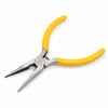 Mini Needle Nose Pliers High-carbon Steel Precision Forged with Non-slip Plastic handles 5 inch (125mm) DIY Tools