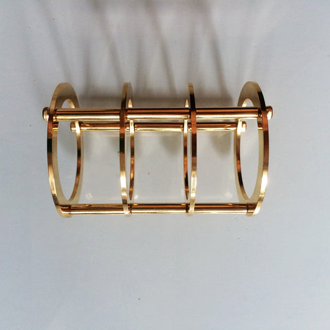 IWISTAO Tube Protective Shield 24K Gold-plated Pure Copper for Tubes EL34 6L6 DIY