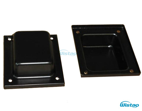 Top Side Transformer Cover 2pcs Suitable for 114 Plate Thickness 1mm For Tube AmplifierTransformers