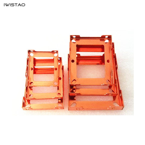 IWISTAO Transformer Bracket Copper Plated 2pcs/lot High Quality British Style 66 86 96 105 114 Plate