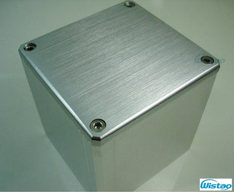 Transformer Cover 84X80X93 Brushed Whole Aluminum 1pc Output Transformer Covers  for Tube amplifier HIFI Audio DIY