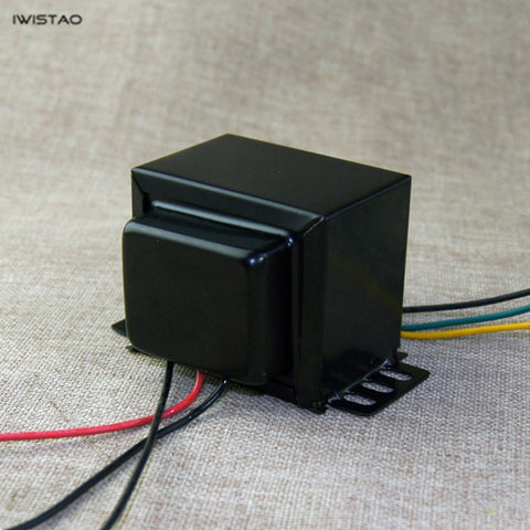 IWISTAO Tube Amplifier Output Transformer 20W Pull-Push Z11 Silicon Steel EI For Pull-push Audio
