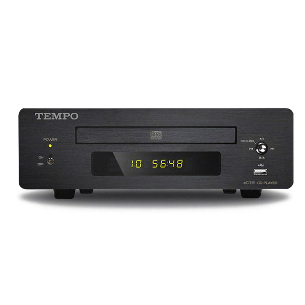 HIFI CD Player HD850 PCM1796 DAC Support 2T U Disk Black/Silver panel Black Casing Coaxial Audio