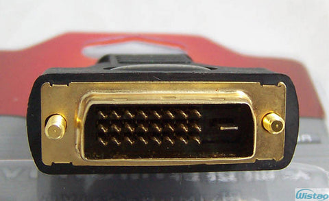 DVI-HDMI Adapter 1pc Gold-plated Pure Copper 720 1080i 1080P Resolution 1920X1200 Plug &Play