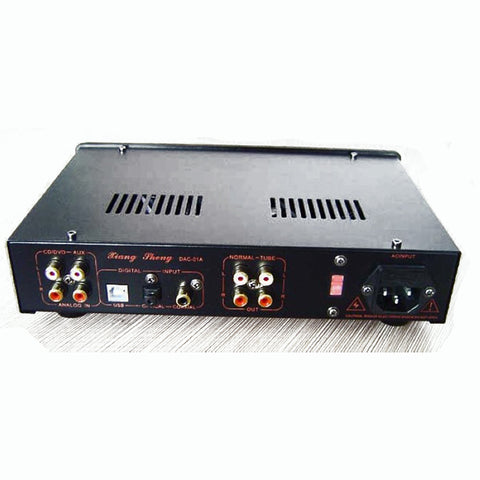HIFI DAC Coaxial Optical USB Asynchronous TE7022L Tube Decoder Amplifier with Headphone Amp 6N3