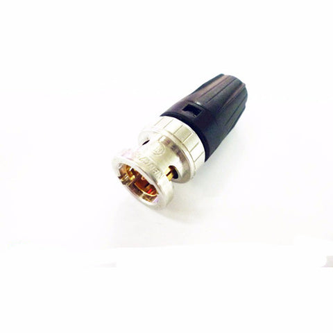 BNC Connector 2pcs/lot NBNC75BLP9 NEUTRIK Digital high-definition HD-SDI 75-4 BNC Q9 Cable Plug HIFI DIY