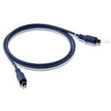 HIFI Optical Cable Digital Length 1m 2m 3m 5m 10m OD4.0mm TOSLINK-TOSLINK Plug