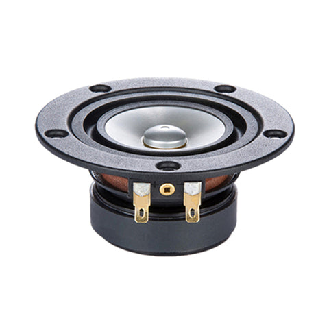 Mark HIFI 3 Inch Full Range Speaker Unit 1 Pair Metal Cone 4 Ohms 8-15W 104Hz-22KH