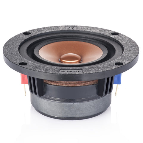 Mark HIFI 3.5 Inch Full Range Speaker Unit 1 Pair Metal Cone 4 Ohms 15-30W 60Hz-20KH