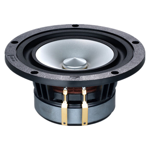 Mark HIFI 5.25 Inch Full Range Speaker Unit 1 Pair Metal Cone 8 Ohms 28-60W 40Hz-28KHz