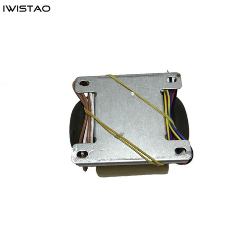 IWISTAO R Type Transformer 0-250VX1 (200mA) 0-9V(3A) 0-26VX1(0.5A) 0-18V(0.5A) for Tube MM/MC Phono Preamplifier
