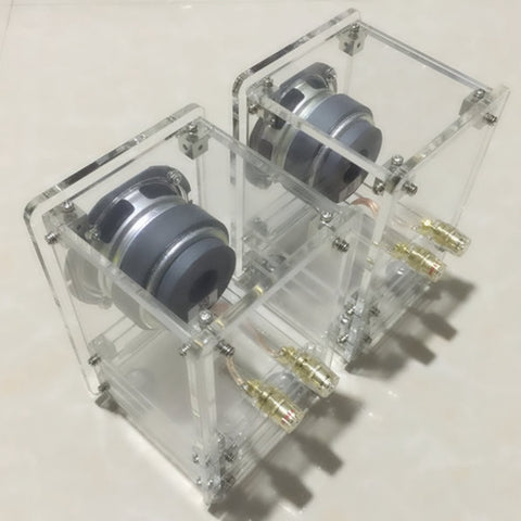 IWISTAO 20W HIFI 2.75 Inch Transparent Labyrinth Speaker 4 ohm 84dB 1 Pair Stereo Audio