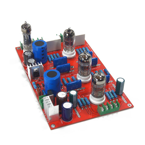 300B Tube Amplifier Finished PCBA Board Steteo Power Stage 6SN7