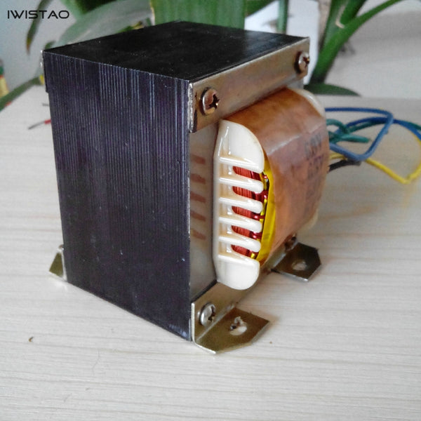 IWISTAO Tube Amp Power Transformer 85W Vertical 6P1 6P14 6P6 HIFI Audio 110/220V DIY