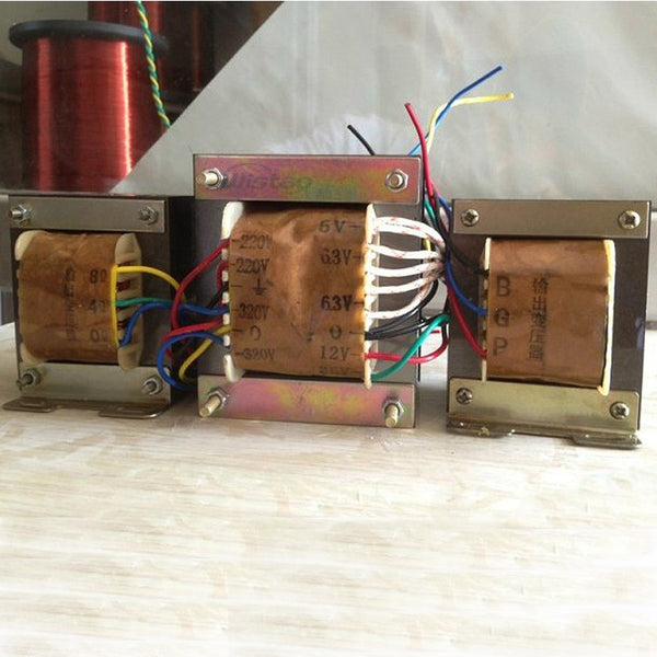 IWISTAO Tube Amplifier Transformer Kit for KT88 Tube Amplifier Including 1pc 250W  Power & 2 pcs Output  HIFI Audio DIY