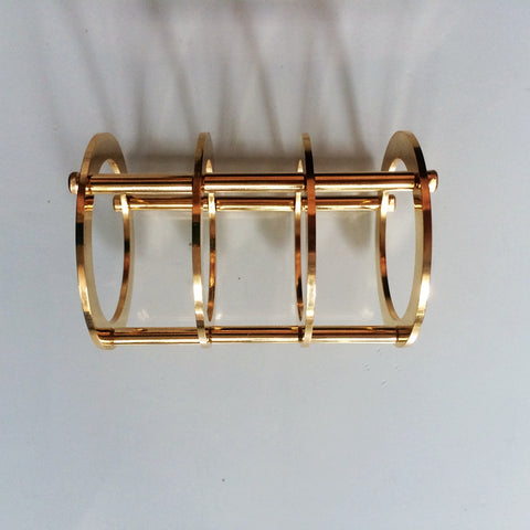 IWISTAO Tube Protective Shield Gold Plated Pure Copper Tubes 300B 2A3 845 DIY Tube Amp HIFI Audio