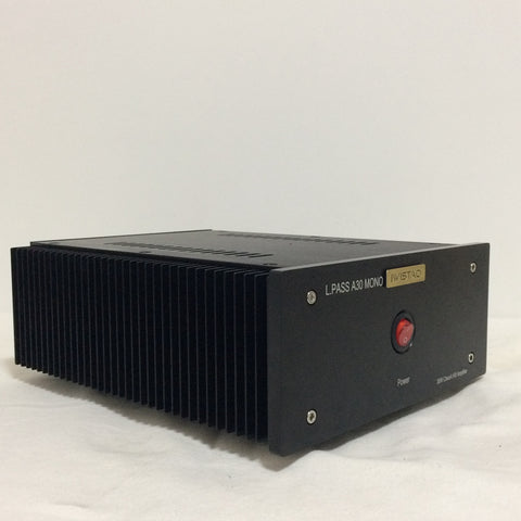 IWISTAO 1 PC HIFI Amplifier 30W Mono ClassA FET Single-ended PassA30 Whole Aluminum Casing Black