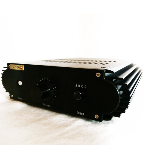 IWISTAO Power Amplifier 2x25W ClassA FET Single-ended Stereo Whole Aluminum Casing