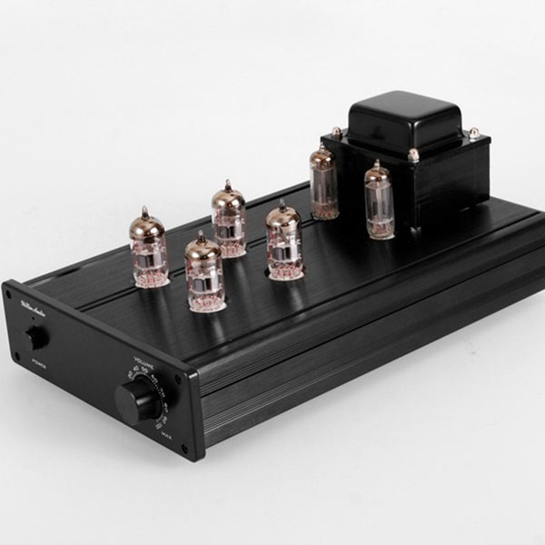 Tube Preamplifier Pure with Shigeru Wada Circuit Tube 12AX7 12AU7 6Z4 Rectifier Aluminum Chassis