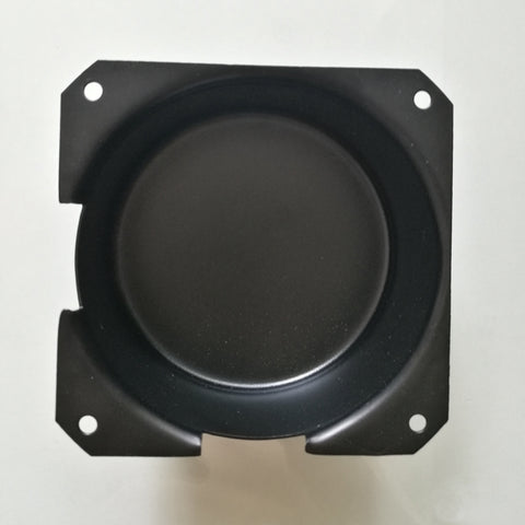 IWISTAO Cover Toroidal Transformer Transformers Cap 105mm*51mm 1mm Iron Plate Black Baking Paint