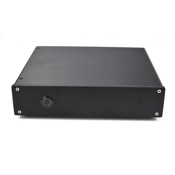 IWISTAO HIFI MM Phono Amplifier RIAA Requirements 4pcs BB OPA604 Whole Aluminum Chassis Black AC110/220V