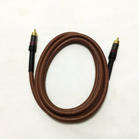 HIFI Coaxial Digital Audio Cable Mercury Series AV Length1.5 m DIY