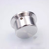 IWSTAO Solid Potentiometer Knob Whole Aluminum Volume OD44 H25mm HIFI Amplifier Tube DIY