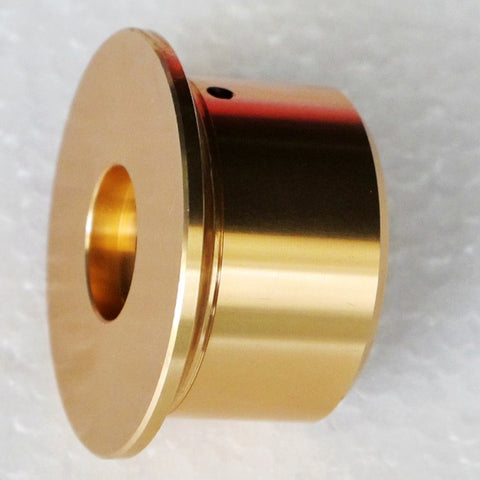 IWISTAO Solid Potentiometer Knob Whole Metal HIFI Amp Tube Volume D50mm H27mm Gold