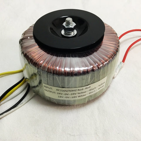IWISTAO 200W HIFI Amplifier Dedicated Toroidal Transformer Wire Dual 18V and Dual 24V
