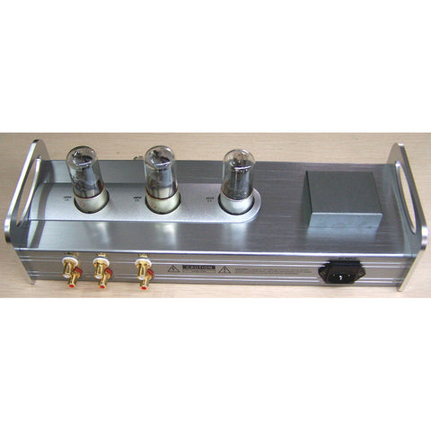 IWISTAO HIFI Tube Pre-amplifier 6N8P Preamp 6Z5P Rectifier Pure Tube Amplifier Whole Aluminum Casing