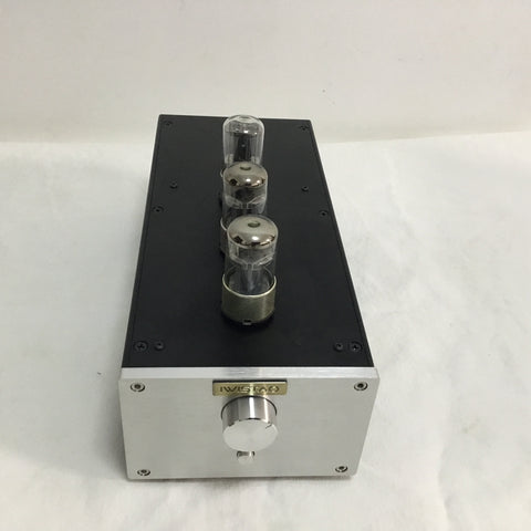 IWISTAO Tube Preamplifier Pure HIFI Whole Aluminum Casing 6N8P Voltage Amp 6Z5P Rectifier