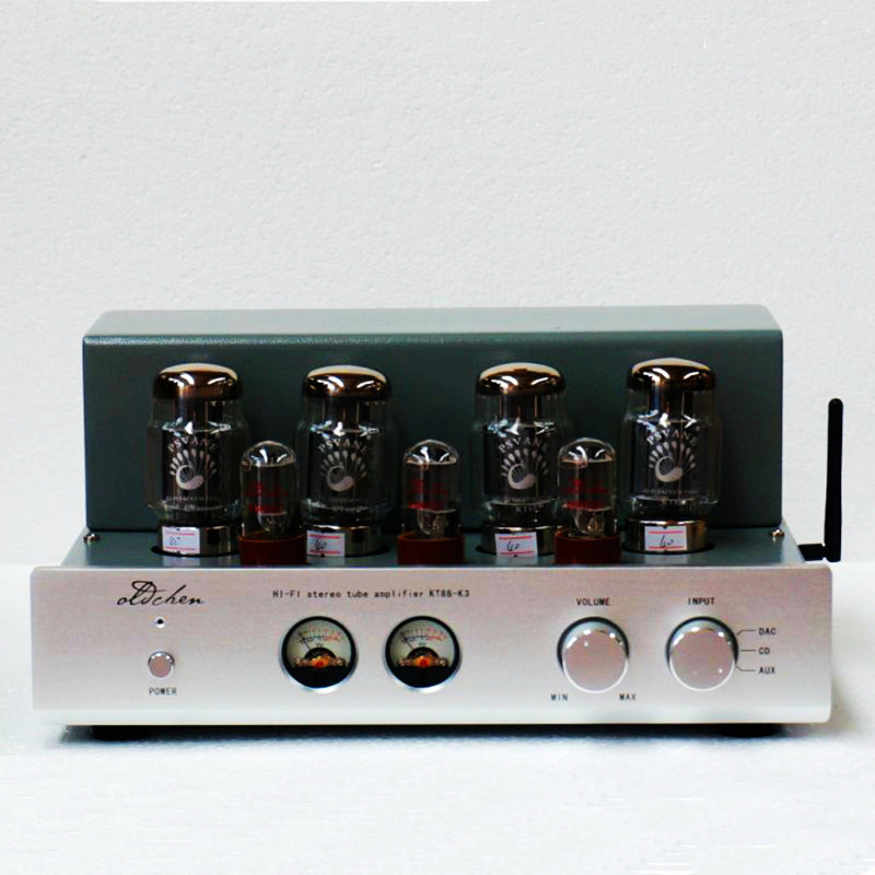 2X45W Bluetooth 4 0 Tube Amplifier Push-pull 6N8Px3 Voice of Noble KT88x4  Hand Scaffolding