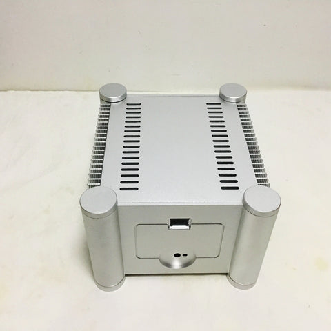IWISTAO Casing of Power Amplifier Whole Aluminum Tube Amp Chassis with Accessories HIFI Audio DIY Sandblasting White
