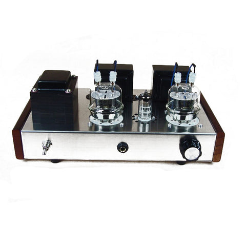 IWISTAO HIFI Tube Headphone Amp 1W 32-600Ω & Tube Amplifier 2X8W 6N2 Drive FU32  Metal Casing