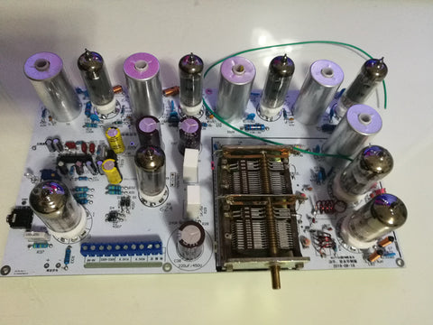 IWISTAO Tube FM Stereo Radio Tuner Finished PCBA Preamplifier Version