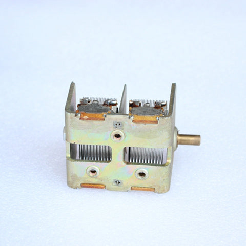 Dual Variable Capacitor 2 x 365PF Inventory New for Tube Radio Ore Radio