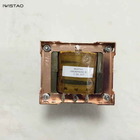 IWISTAO 2A3 Output Transformer C Type Single-ended British Amorphous 8C Core Pr 2.5K Se 0-4-8