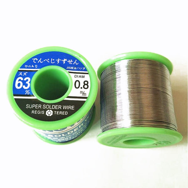 High-quality Tin Solder Wire 0.8mm 500g / roll Non-rosin Flux Cleaning for HIFI Audio Amplifier