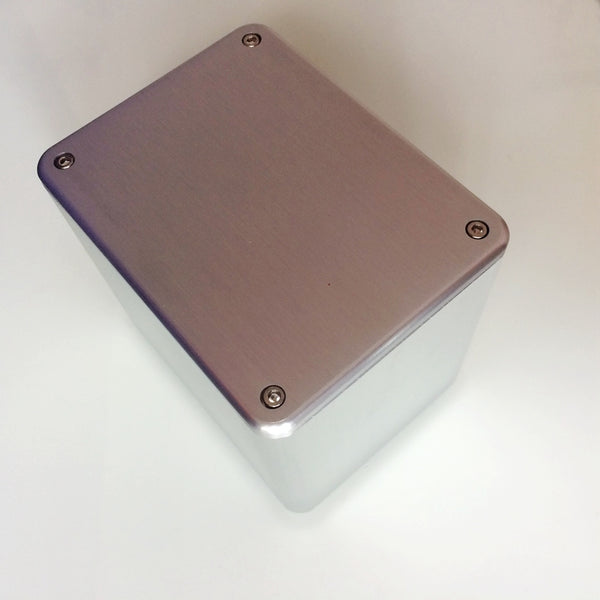 IWISTAO Transformer Cover 130X100X116 Brushed Whole Aluminum Power Covers for Tube amplifier  DIY