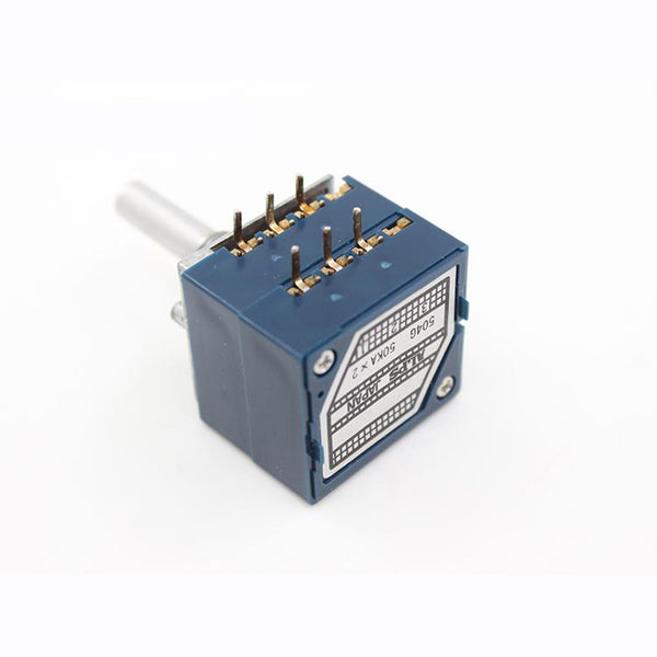 Japanese original ALPS 27 Type Volume Potentiometer Round Shaft and Universal Rachis 100K 50K 10K HIFI DIY