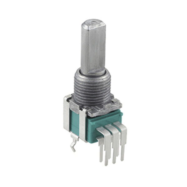 Volume Potentiometer B10K 4pcs Japanese original ALPS 09 Vertical Double with Midpoint Handle Length 15MM HIFI DIY