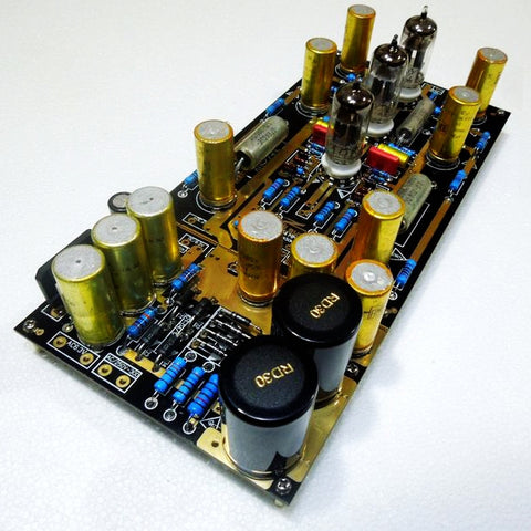 Tube MM Phono Stage Amplifier Board PCBA Ear834 Circuit Vinyl LP Amp No Including Tubes RIAA
