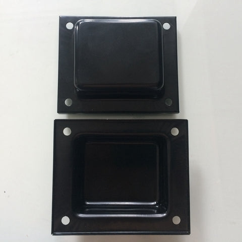 Top Side Transformer Cover 1pc  Suitable for 76 plate Thickness 1mm For Tube Amplifier Transformers