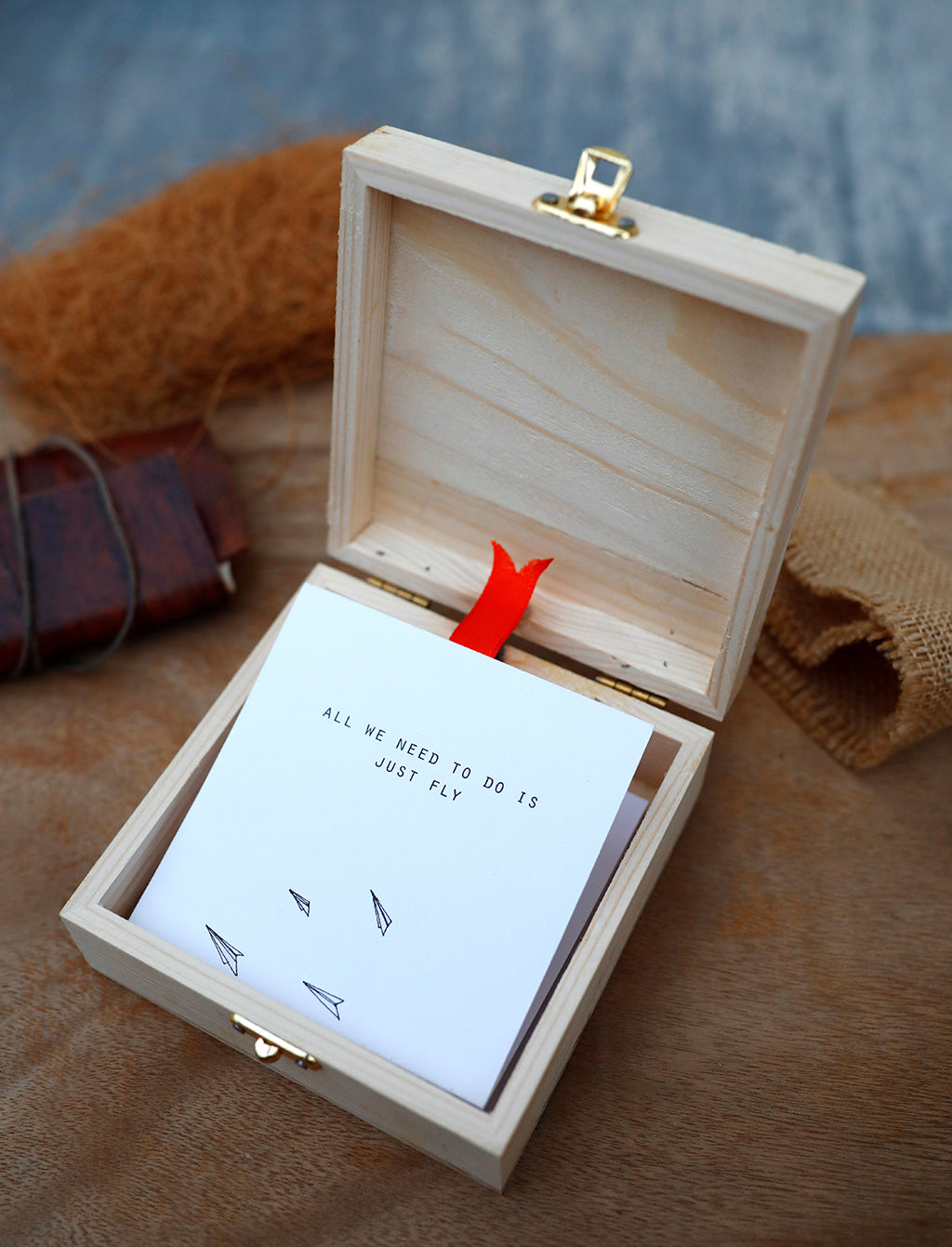Wish in a box | Unposted Letters | Limited Edition | Gift