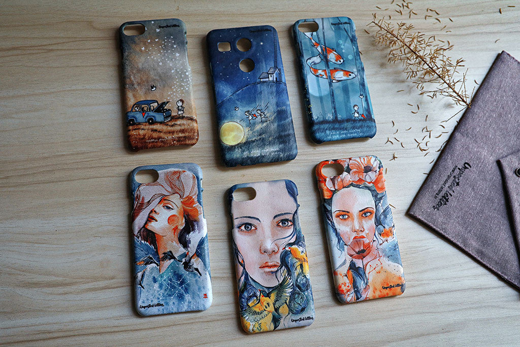 Custom Mobile Phone Cases - Unposted Letters - Limited Edition