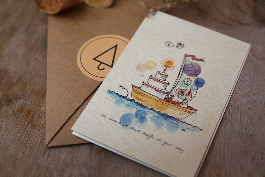 Art of Wishing - Limited Edition Wishing Cards, Greeting Cards - Unposted Letters