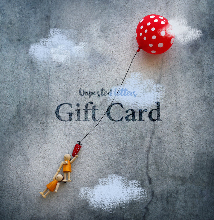 Unposted Letters Gift card