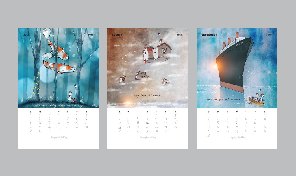 Art Calendar 2018 | Limited Edition